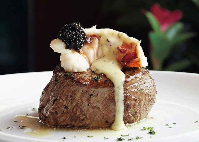 Flemings.Main Filet with truffled poached lobster topping.jpg.r300