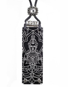 Black-Buddha-Namaste-Necklace-With-Swarovski-Crystal