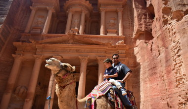 "Take Your Kids on an ""Indiana Jones"" Adventure in Petra, Jordan"