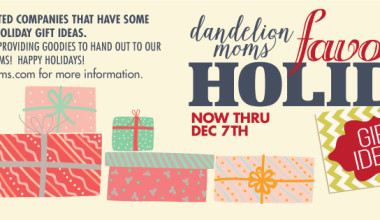 Dandelion Moms Favorite Gift Ideas Giveaway 2015