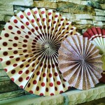 Colorful party fans make any festive event pretty dont youhellip