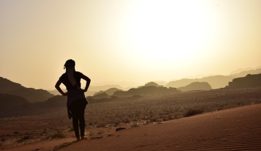 Adventures in the Wadi Rum Desert, Jordan