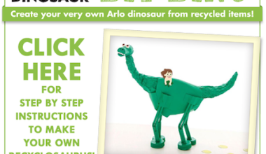 "The Good Dino ""Recyclosaurus"" Contest Encourages Recycling"