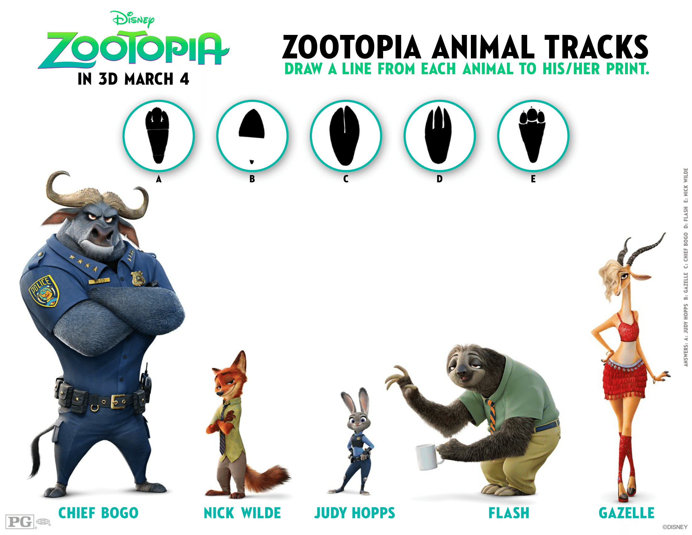 Walt Disney Animation Studios Zootopia Out In Theaters Now