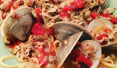 Homemade Linguine and Clams Recipe
