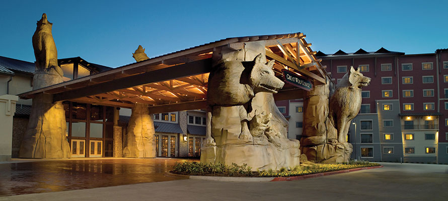 The Southern California Great Wolf Lodge Exceeds All
