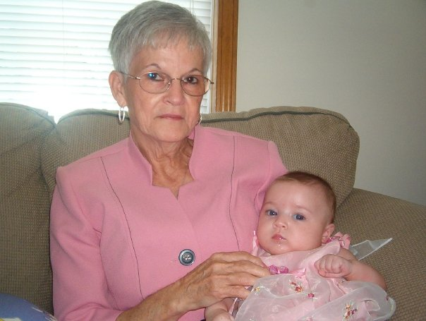 My mom with my daughter, Gretchen