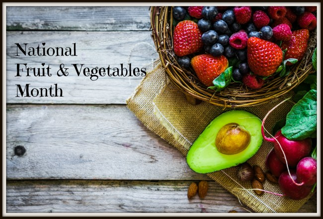 national fruit and vegetables month