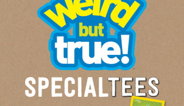 "Check out the Super Fun Crazy 8 ""Weird But True"" National Geographic Partnership"