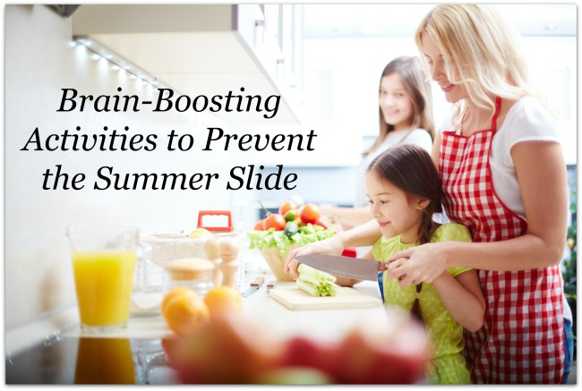 brain boosting activities to prevent summer slide