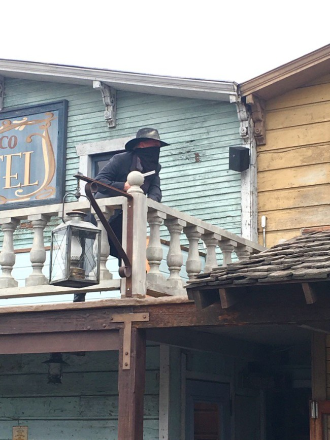 Knott's really goes all out with the entertainment during the Ghost Town 75th celebration!