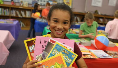 READING IS FUNDAMENTAL TAKES PART IN PBS KIDS' SUMMER LEARNING INITIATIVE