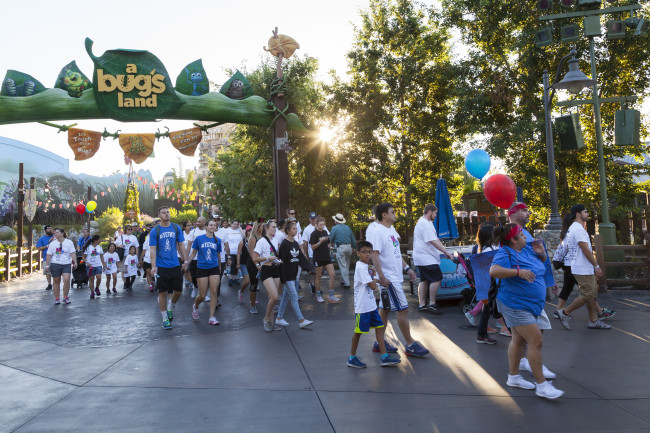 choc-walk-participants-experience-disneyland-park-and-disney-california-adventure-park-before-they-open-to-the-public