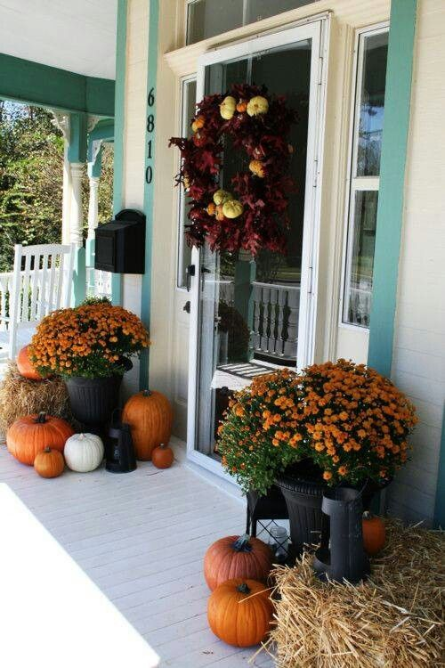 5 Gorgeous And Simple Fall Porch Decor Ideas
