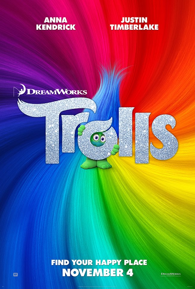 Dreamworks animation s trolls out in theaters november 4th