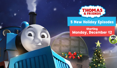 Be Sure to Check Out PBS Kids Holiday Programming this Month!