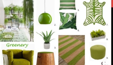 Dwell :: Decorating with Greenery, Pantone Color of the Year 2017 Edition