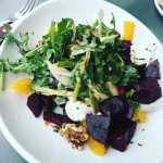 The slowtoasted beet salad at eurekairvine is gorgeous and tasty!hellip