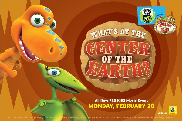 PBS KIDS PREMIERES NEW ONE-HOUR DINOSAUR TRAIN SPECIAL, MONDAY, FEBRUARY 20