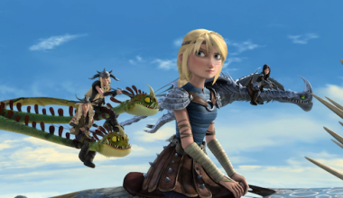 Season 4 of DreamWorks Dragons: Race to the Edge premieres exclusively on Netflix February 17