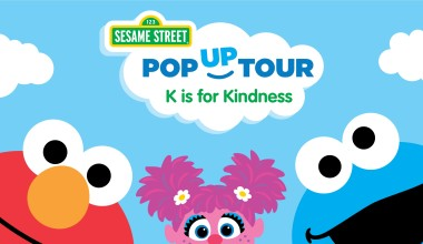 Meet Elmo and Abby Cadabby at the Sesame Street: K is for Kindness Pop-Up Tour February 25th