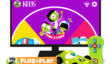 PBS KIDS PLUG & PLAY™, The First Kids' Television and Playtime Streaming Stick