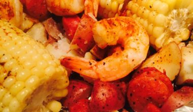 Recipe :: Shrimp Boil in Foil