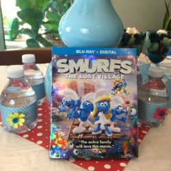 Smurfs: The Lost Village Party, Craft and Recipe Ideas