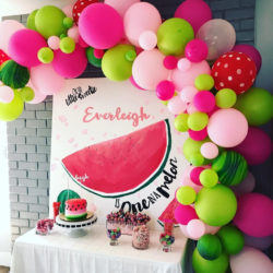 """""""One in a Melon"""" A Watermelon 1st Birthday Party"""