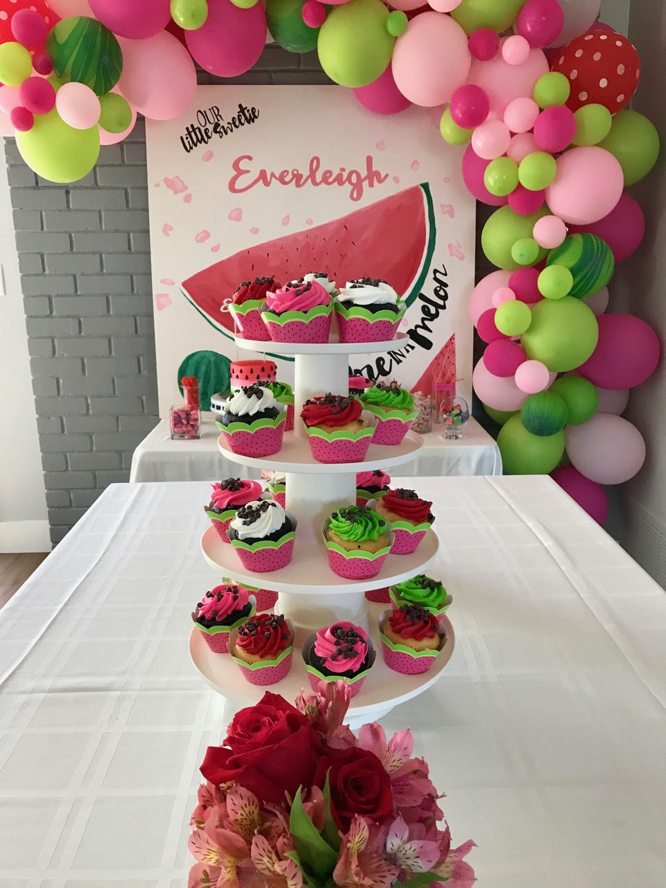 Quot One In A Melon Quot A Watermelon 1st Birthday Party