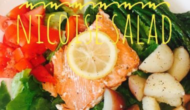 The Perfect Meal :: Warm Salmon Nicoise Salad