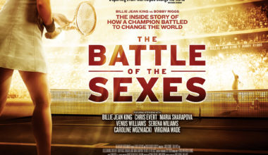 The Battle of the Sexes out in theaters September 22nd.