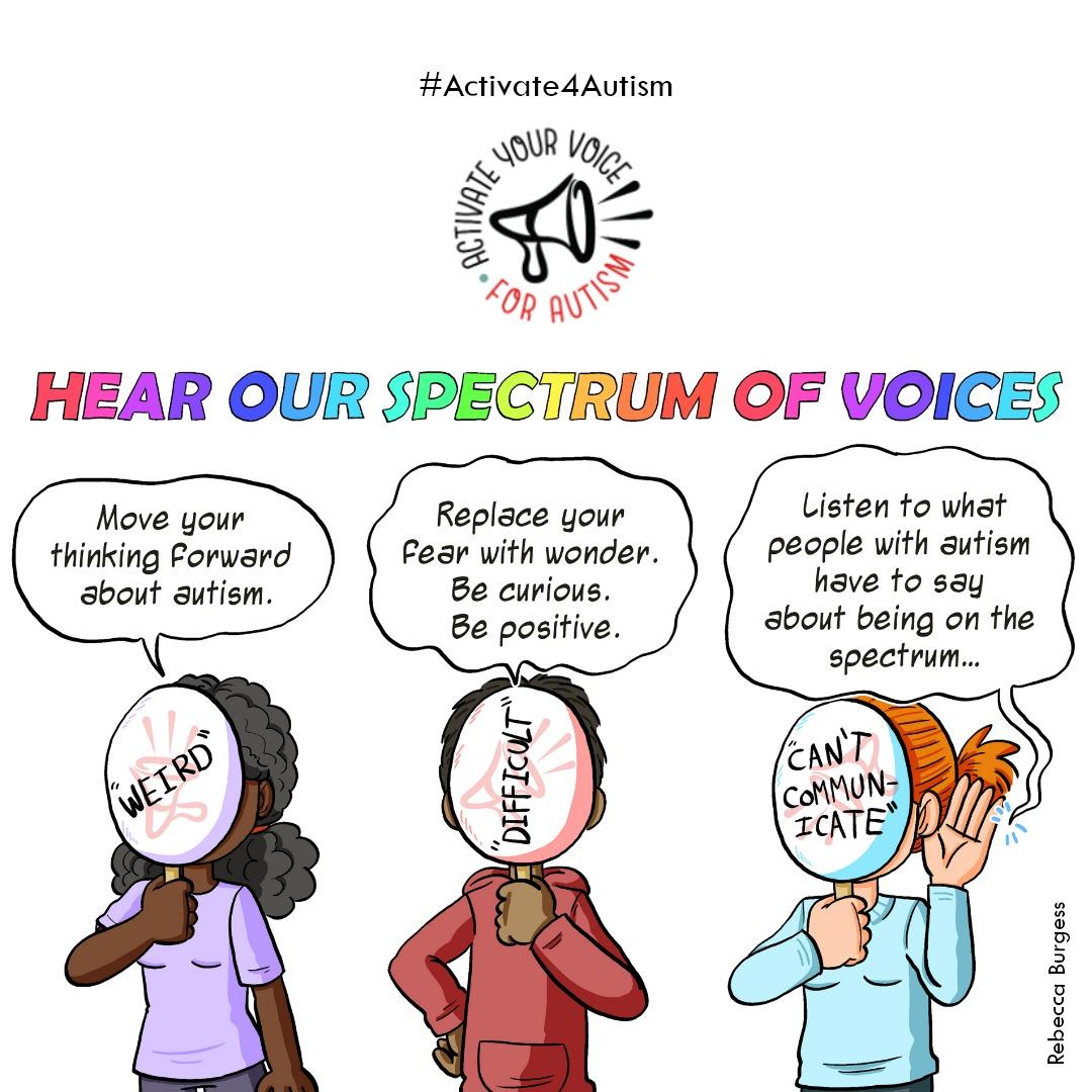 #Activate4Autism: Spectrum of Voices