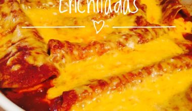 Delicious Homemade Cheese Enchiladas