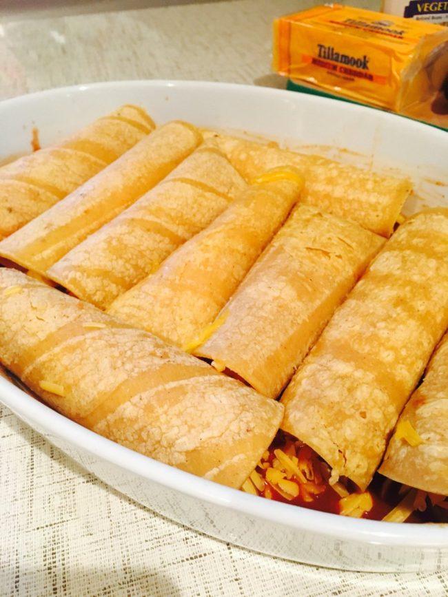 Delicious Homemade Cheese Enchiladas – Dandelion Women