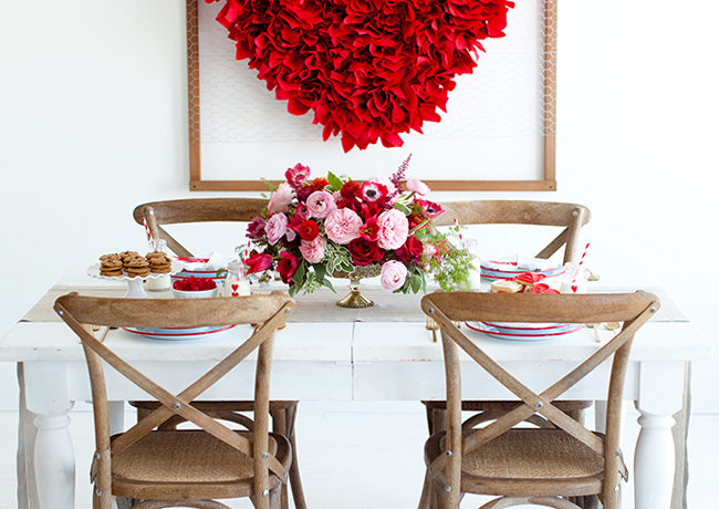 Valentine's Day : Decor Tips, Recipes and Crafts!